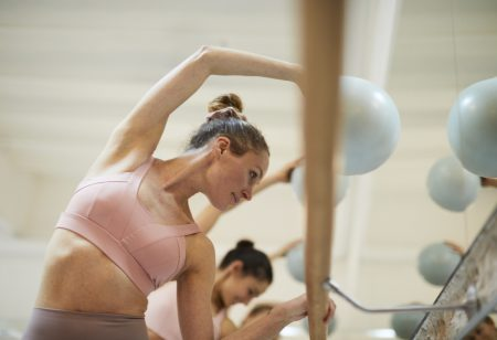 studio barre work-out