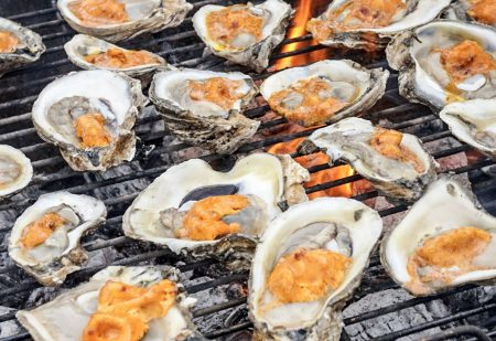gegrillde oesters