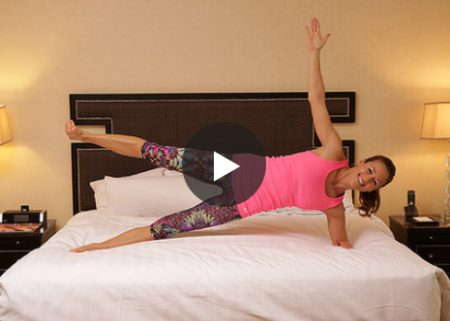 Work-out Wednesday: in bed