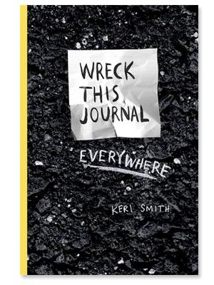Tip: Wreck this journal everywhere