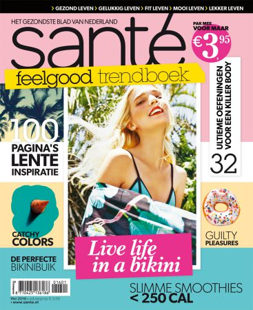 Nu in de winkel: Santé feelgood trendboek